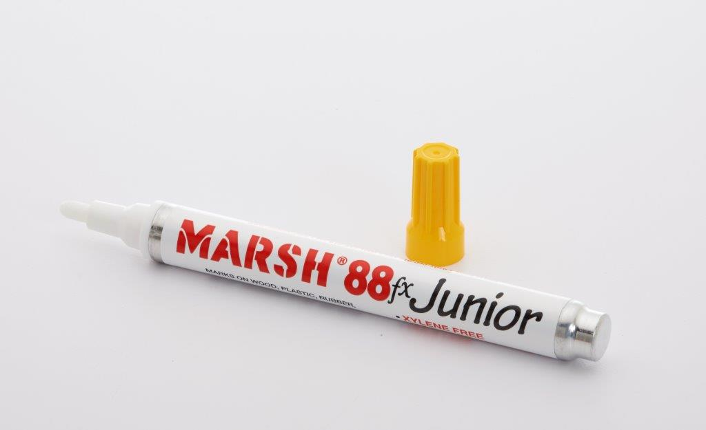Yellow Pigmented Marsh 88 FX Junior Marker - 12/Box
